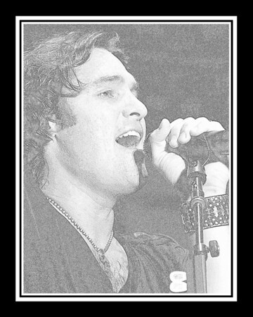Ribfest - 2012 - Naperville, Illinois - Joe Nichols - Pencil Sketch - Print as 8x10