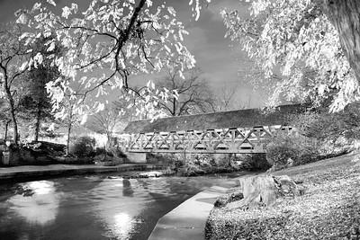 Covered Bridge - Naperville Riverwalk - Naperville, Illinois - Photo Taken: November 4, 2015