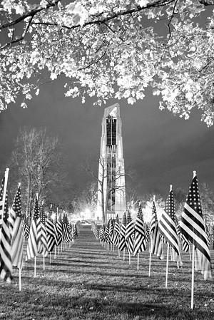Millennium Carillon - Naperville Riverwalk - 443 Aurora Avenue - Naperville, Illinois - Photo Taken: November 6, 2015