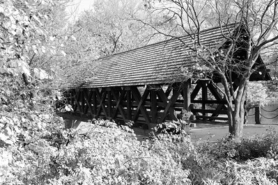 Covered Bridge - Naperville Riverwalk - Naperville, Illinois - Photo Taken: October 26, 2015