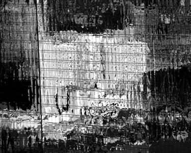 Abstract - Las Vegas Glass Reflection