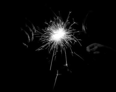 Sparklers at 4th of July Celebration