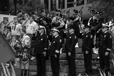 9/11 Tribute Ceremony - 12th Year Anniversary - Naperville, Illinois - 2013