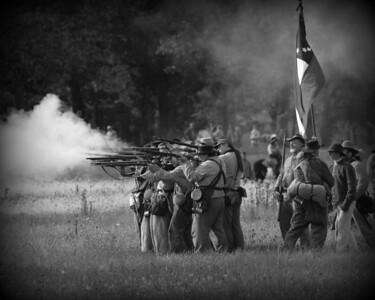 Civil War Reenactment - Minooka / Channahon, Illinois - Dollinger Farm - 2012