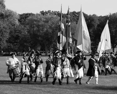 Cantigny Revolutionary War Reenactment