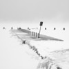 Pier in the Snow Storm, Chicago, IL 4579