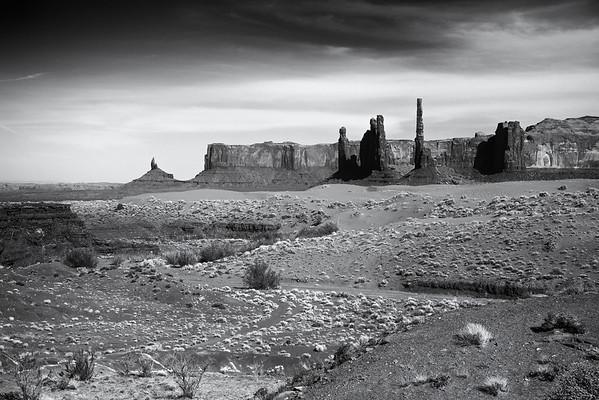 Totem Poles, Monument Valley, AZ