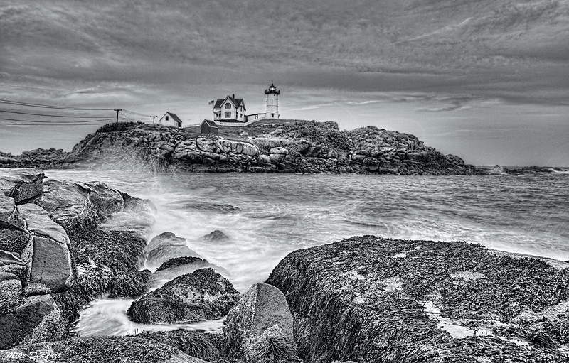 Nubble Lighthouse Sunset 0580 w38