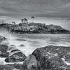 Nubble Lighthouse Sunset 0580 w38