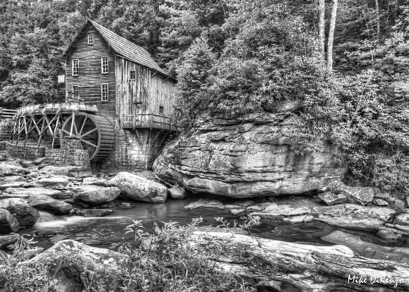 Glade Creek Grist Mill - Babcock State Park - West Virginia  0162  w22