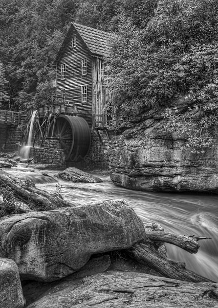 Water Mill on the Rocks  5371 w34