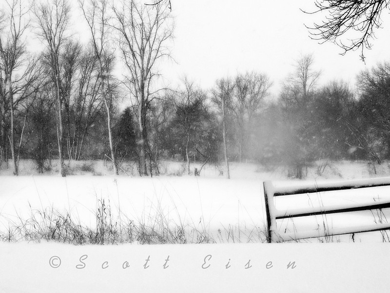Wintery Scene<br /> <br /> Daily Photos - February 27, 2013<br /> <br /> Added a bit of an Orton Effect here. I think it helps convey more of a frosty/snowy feel...