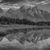 Tetons in monochrome 2120 w51
