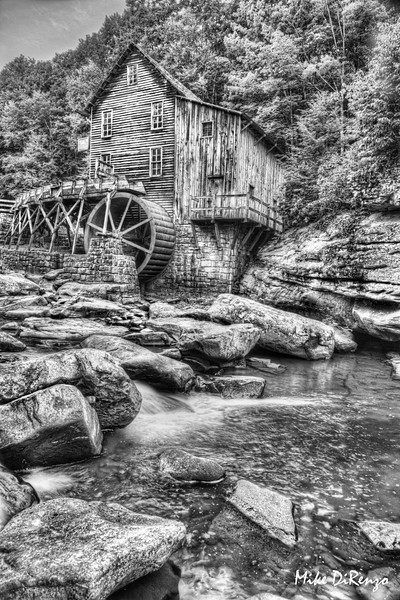 Glade Creek Grist Mill - West Virginia  0111  w22