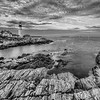 Portland Lighthouse Cliffside 5237 w43