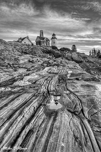 Pemaquid Point Cliffside  2874 w39