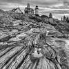 Pemaquid Point Cliffside  2874 w39
