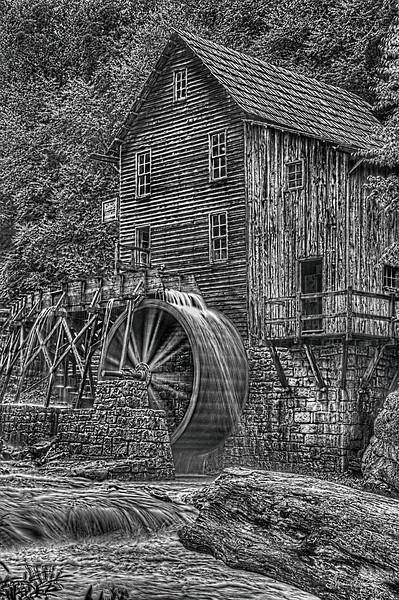 Glade Creek Grist Mill 5323 w54