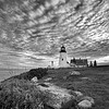 Pemaquid Cloudy Evening 1288 w63
