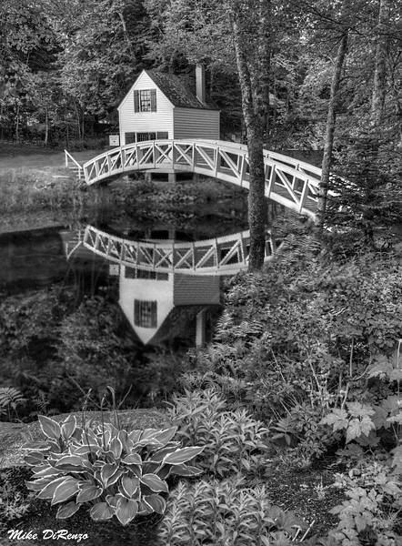 Reflections of Somesville Bridge 1037 w43