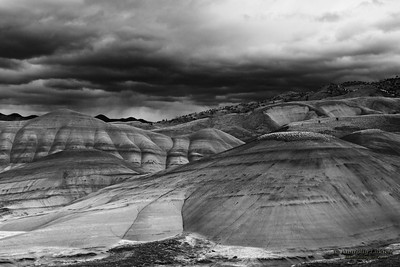 Painted Hills Unit.  John Day Fossil Beds National Monument, Northeastern Oregon, U.S.A.