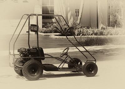 Go Kart bw