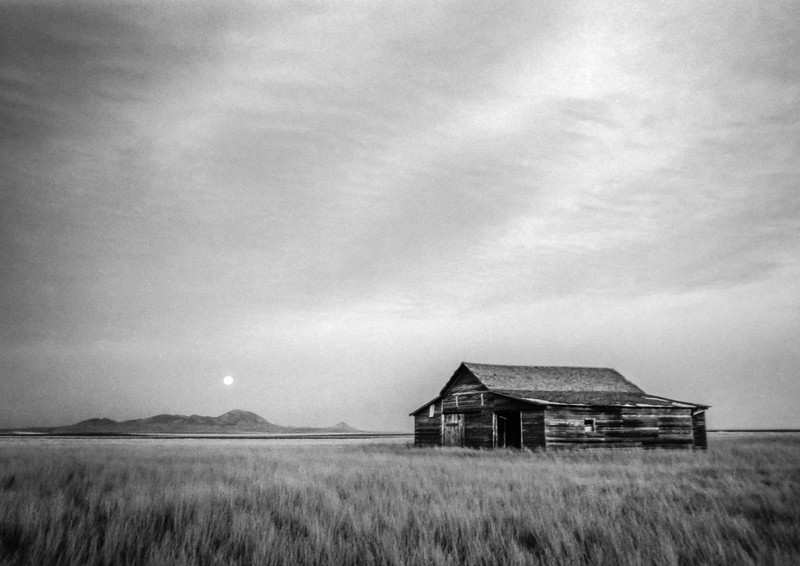 Moonrise,  Sweetgrass Hills