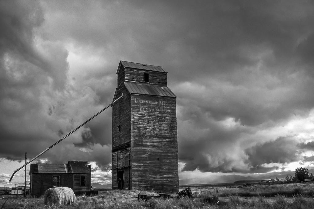 Grain Elevator - Pendroy, Montana