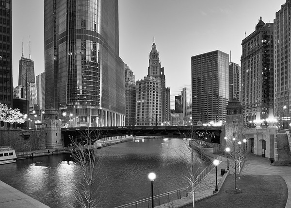 Chicago at Night II