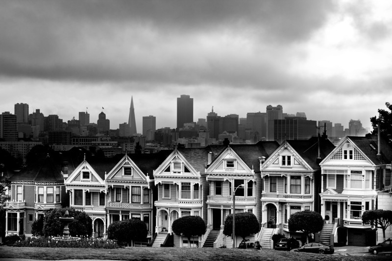 Painted Ladies - San Francisco CA