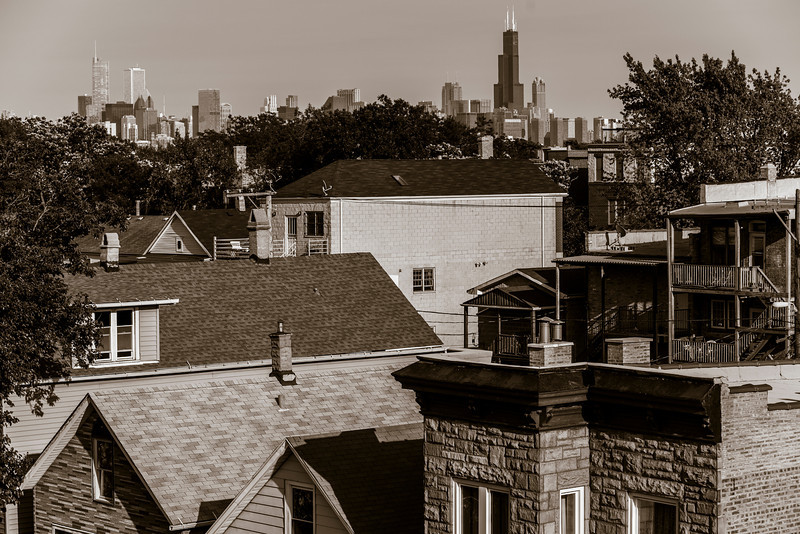 Chicago IL - From a friend of mines roof.
