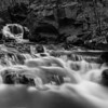 A shot of the middle cascade at Senter Falls, very different from the last psychedelic swirl one. It was almost dark and I could barely see to compose, but it came out pretty well.