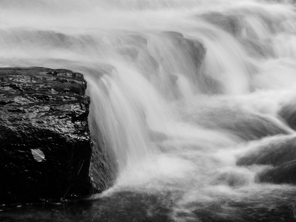 A detail of Garwin Falls. Because the water was so low I could get to vantage points normally unavailable. OM 90mm at probably f11