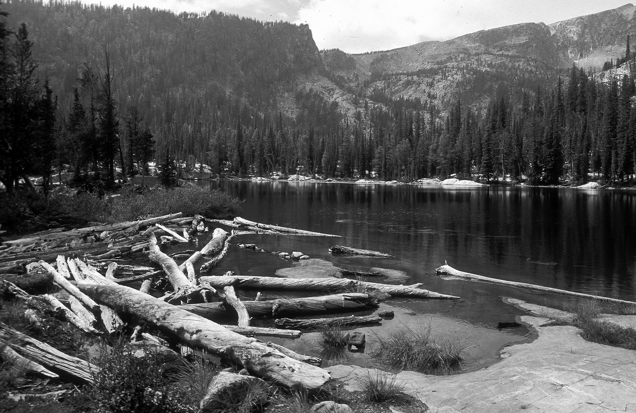 Baker Lake By the time we got up here, the light was gone and everything was harsh & contrasty.  Still I did the best I could.  Montana 2006