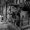 Granite lathe at the Redstone Quarry - abandoned in the late 1940s.  Engines were coal-fired, steam-powered.