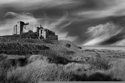 Bamburgh Castle mono