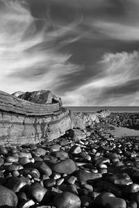 Dunstanburgh Rocks mono