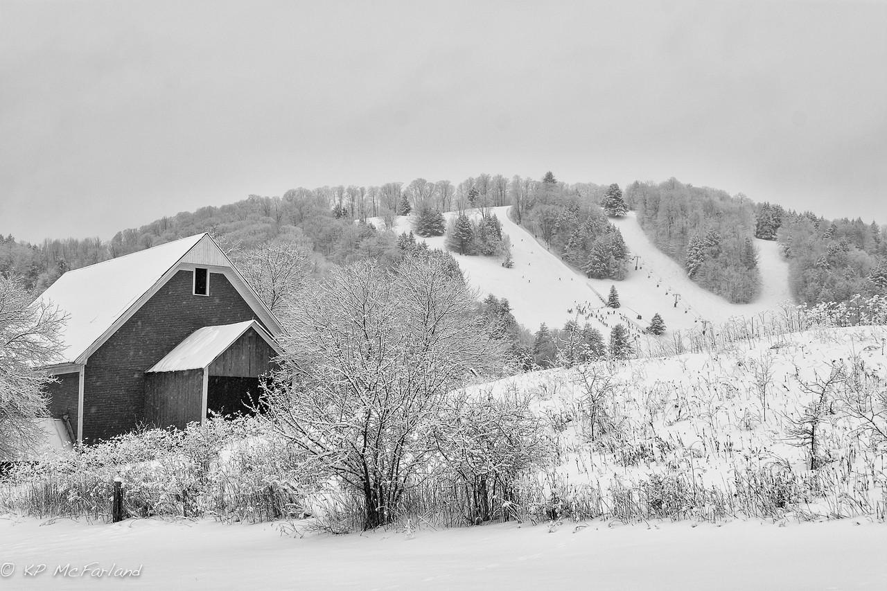 A Vermont Ski Hill