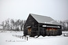 New World Dutch Barn in Winter #2