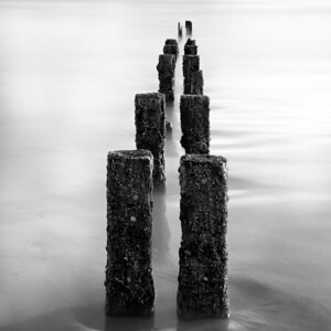 Weathered Groynes, Aberdeen