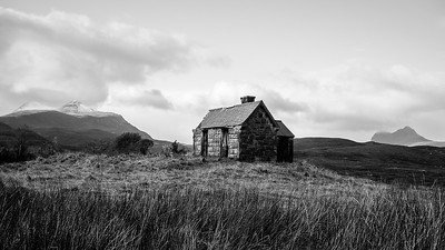 An Old Bothy At Elphin