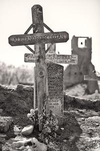 Grave Yard Taos Pueblo Taos, New Mexico (5II2-11629)