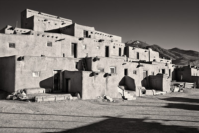 Pueblo Taos Pueblo Taos, New Mexico (5II2-11266)