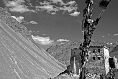 Zangla fort near Padum in the Zanskar district