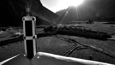 Spiti Photographs in Black & White