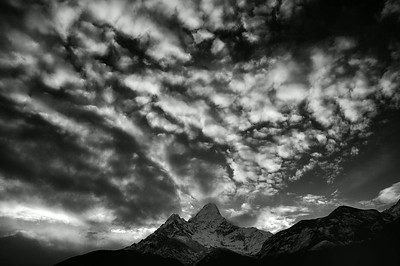 Ama Dablam from Pangboche