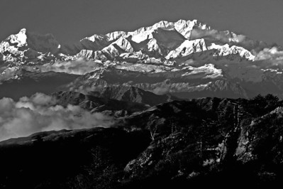 The Himalaya in Black and White