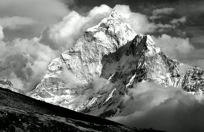 Ama Dablam as seen from above Dugla on the Everest trek