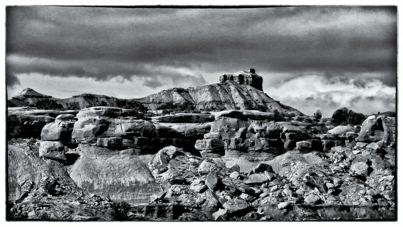 "Taken with my Lumix pocket camera-it does have Leica lens  Just a ""pile of rocks"" in beautiful Utah."