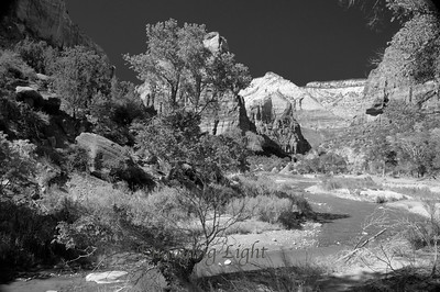 Zion River, Zion National Park, Utah